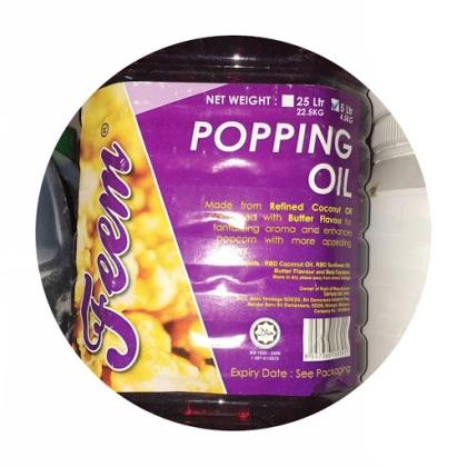 Feem Popping Oil 5L